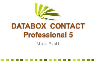 DATABOX  CONTACT Professional 5