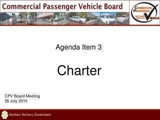 Agenda Item 3