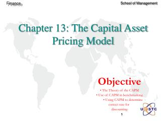 Chapter 13: The Capital Asset Pricing Model