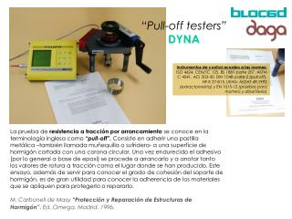 """""""Pull-off testers"""" DYNA"""