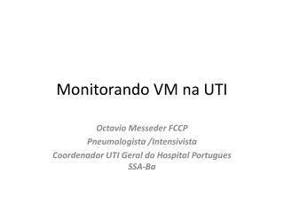 Monitorando VM na UTI