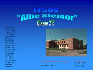 """ITSOS  """"Albe Steiner"""""""