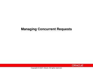 Managing Concurrent Requests