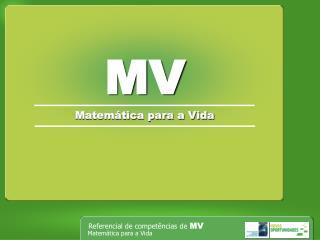 Matemática para a Vida