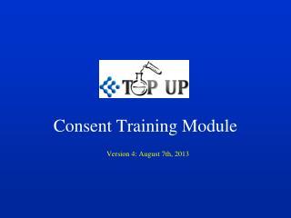 Consent Training Module
