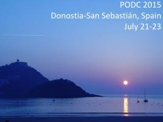 PODC 2015 Donostia-San Sebastián, Spain July 21-23