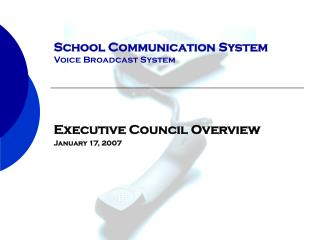 School Communication System Voice Broadcast System