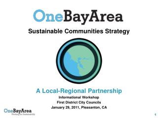 Sustainable Communities Strategy