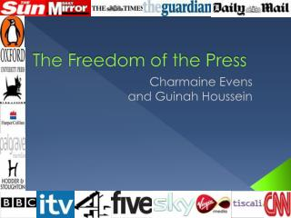 The Freedom of the Press
