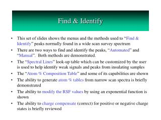 Find & Identify
