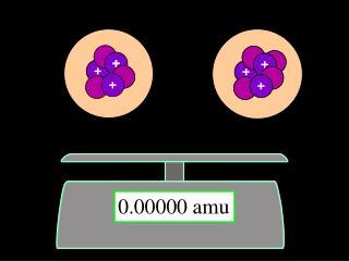 0.00000 amu