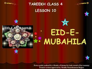 TAREEKH CLASS 4 LE SSON 10