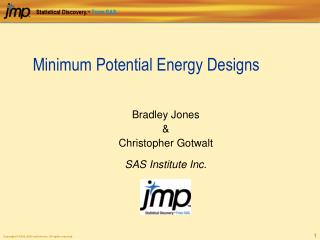 Minimum Potential Energy Designs