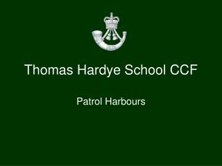 Thomas Hardye School CCF