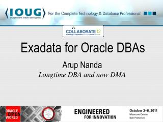 Exadata for Oracle DBAs