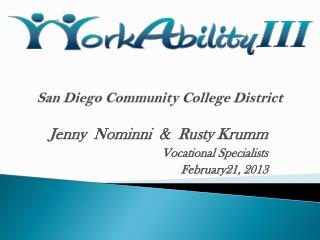 San Diego Community College District  San Diego Community College District