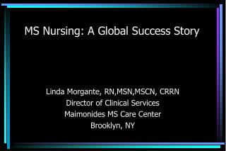 MS Nursing: A Global Success Story