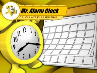 Mr. Alarm Clock