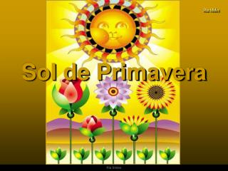 Sol de Primavera