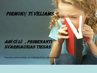 PIRMOKU TEVELIAMS