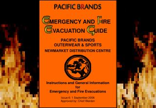 PACIFIC BRANDS  OUTERWEAR & SPORTS NEWMARKET DISTRIBUTION CENTRE