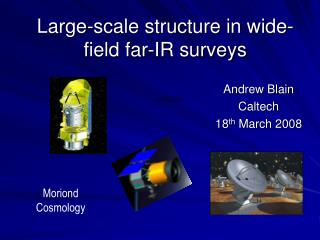 Large-scale structure in wide-field far-IR surveys