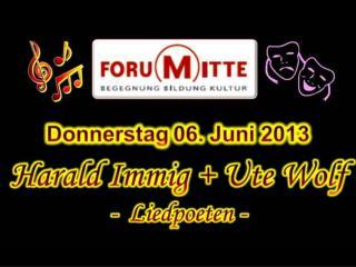 2013 06 06 Harald Immig und Ute Wolf