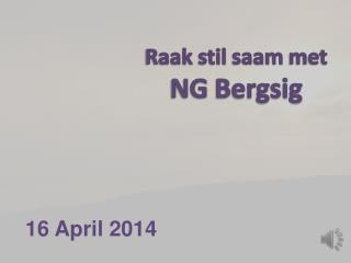 16 April 2014