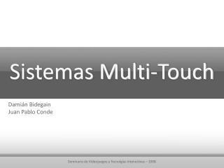 Sistemas Multi-Touch