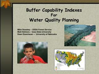 Buffer Capability Indexes For Water Quality Planning