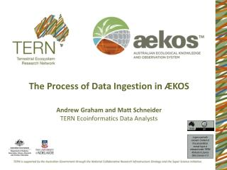 The Process of Data Ingestion in ÆKOS