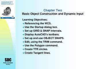 Chapter Two  Basic Object Construction and Dynamic Input