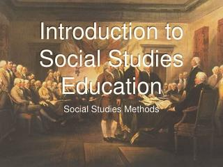 Introduction to Social Studies Education