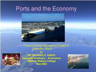 Ports and the Economy