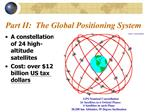 Part II:  The Global Positioning System