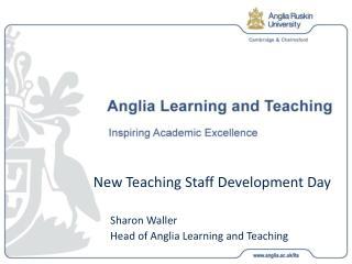 New Teaching Staff Development Day