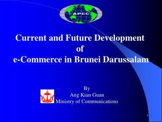 Current and Future Development  of  e-Commerce in Brunei Darussalam