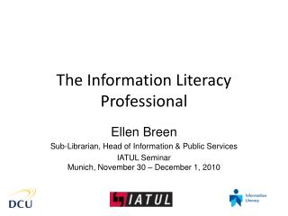 The Information Literacy Professional