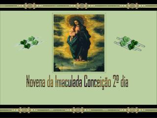 Novena da Imaculada Conceição 2º dia