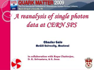 A reanalysis of single photon data at CERN SPS