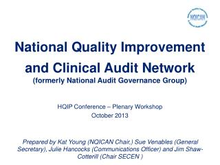 National Quality Improvement