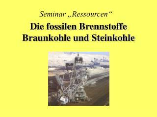 "Seminar ""Ressourcen"""