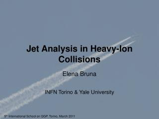 Jet Analysis in Heavy-Ion Collisions