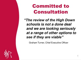 Committed to Consultation