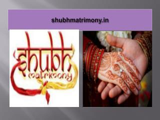 shubh matrimony - www.shubhmatrimony.in