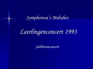 Symphorosa's Melodies