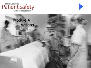 Module 4           �Actions�
