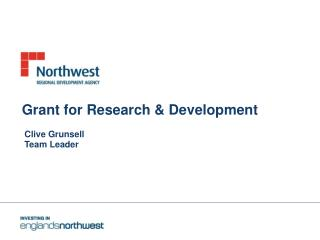 Grant for Research & Development