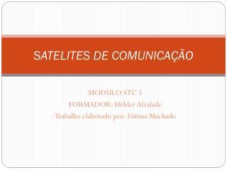 SATELITES DE COMUNICAÇÃO