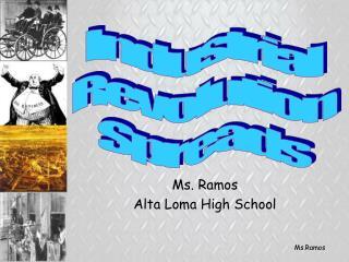 Ms. Ramos Alta Loma High School